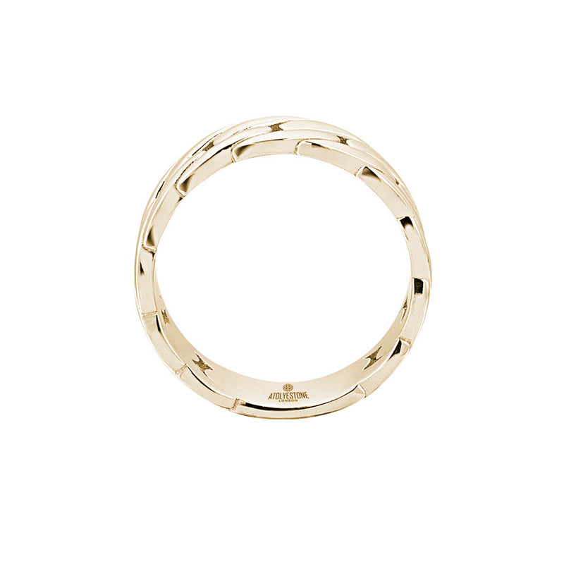 Chain Ring - Gold for Men