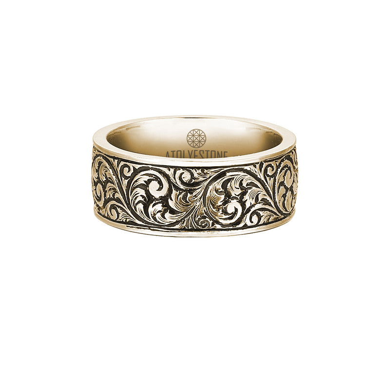 Classic Band Ring - Solid Gold