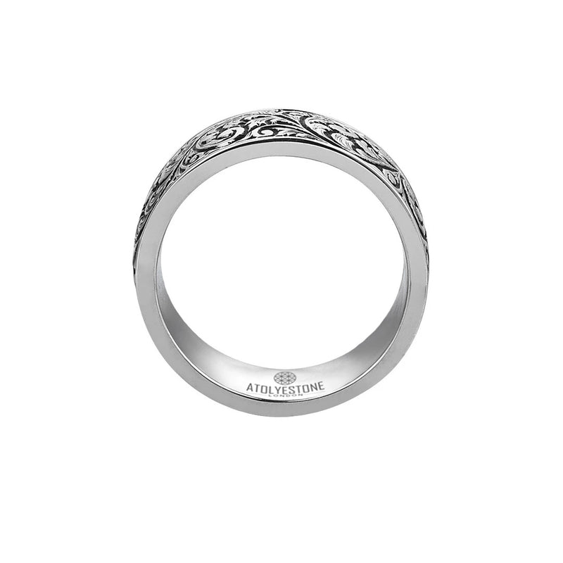 Classic Band Ring - Solid Silver