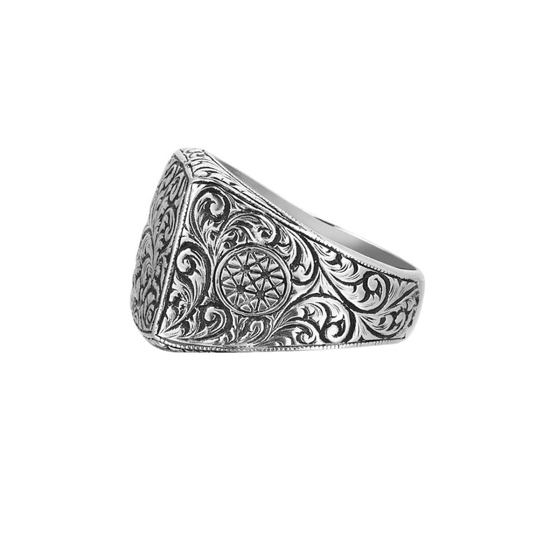 Mens Classic Ring - Silver