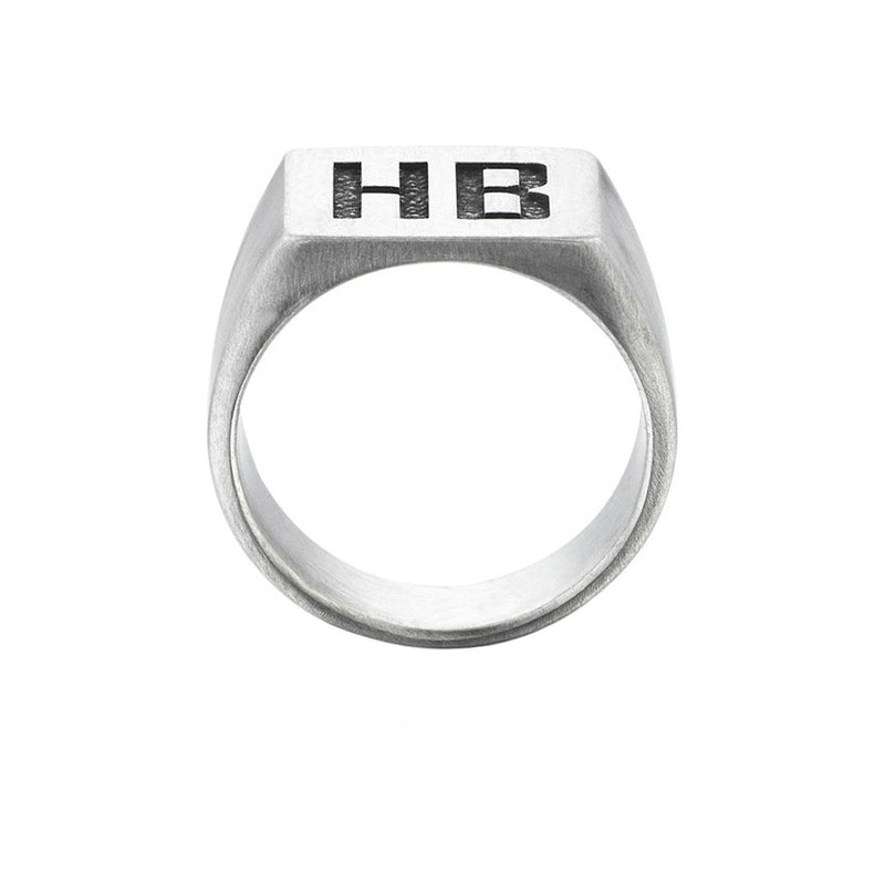 Foundation Personalized Ring - Solid Silver
