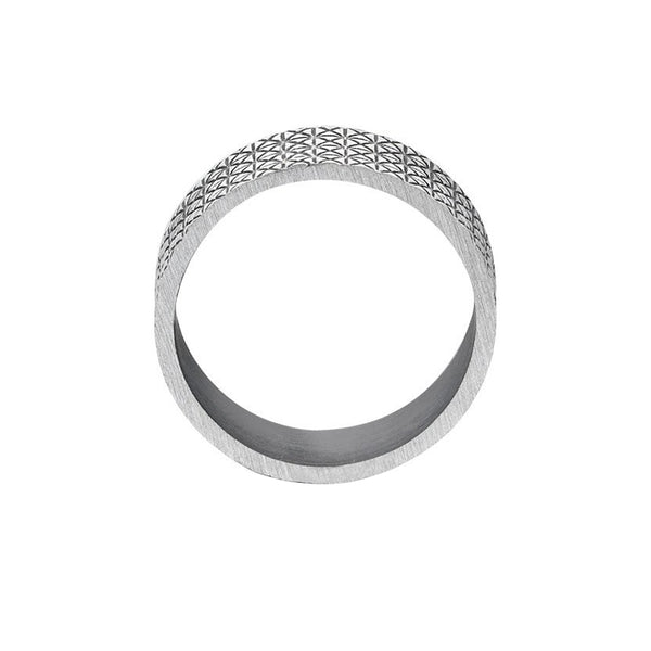 Signature Ring - Solid Silver for Men