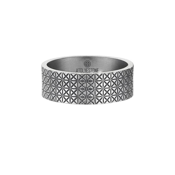Signature Ring - Solid Silver