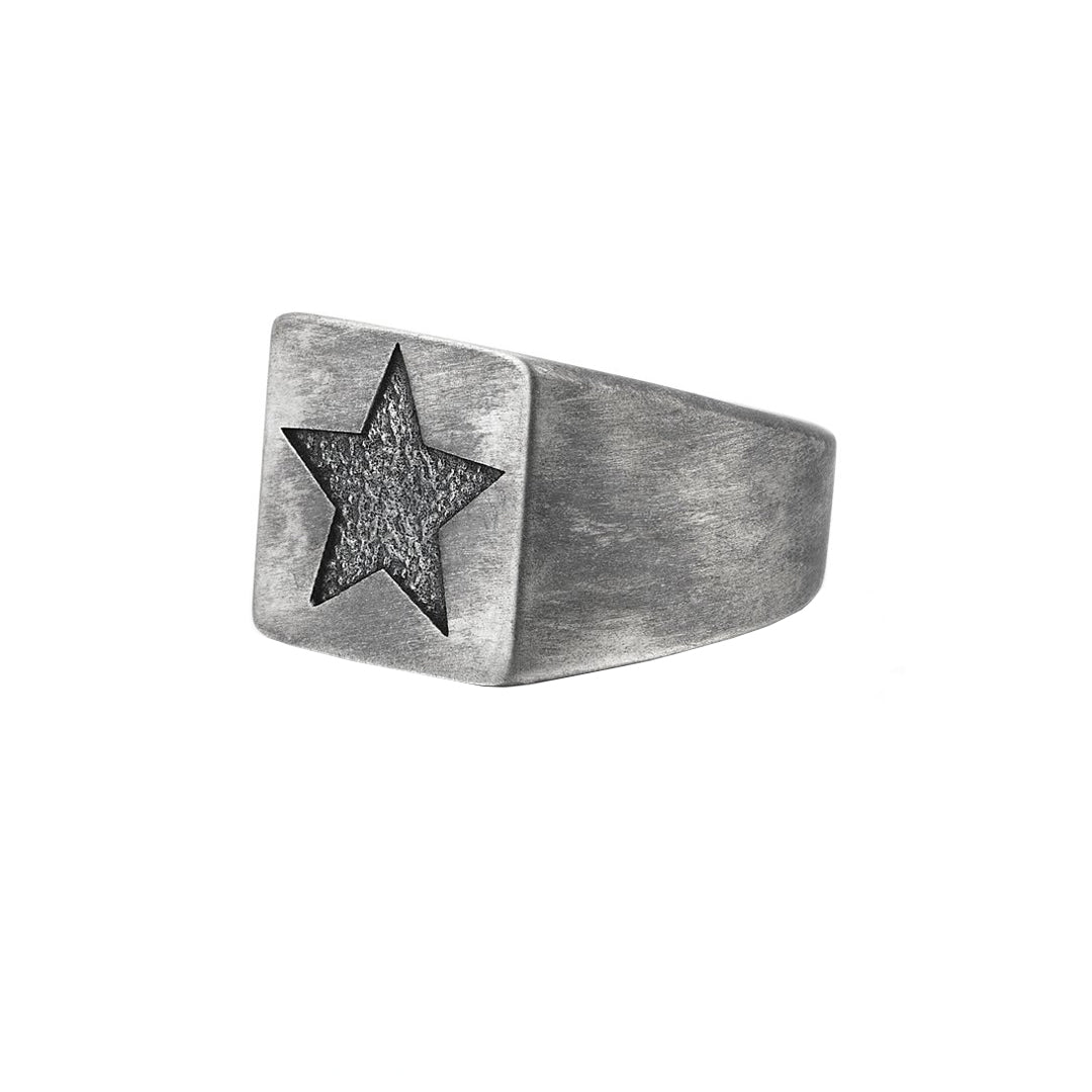 Star Ring - Solid Silver