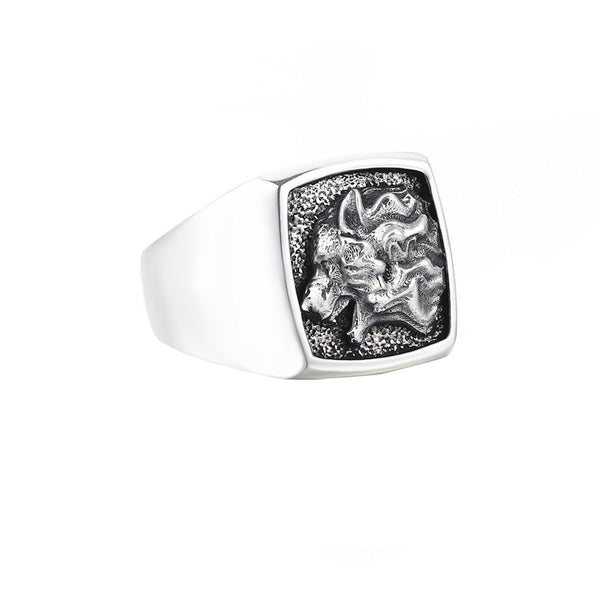 Wolf Ring - Solid Silver