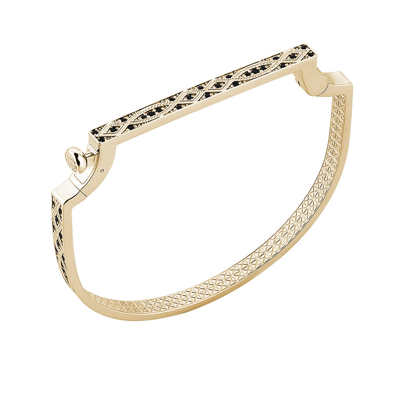 Streamline Bangle in 14k Yellow Gold