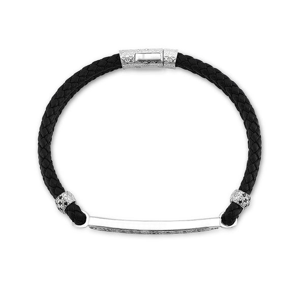 Streamline Leather Bracelet