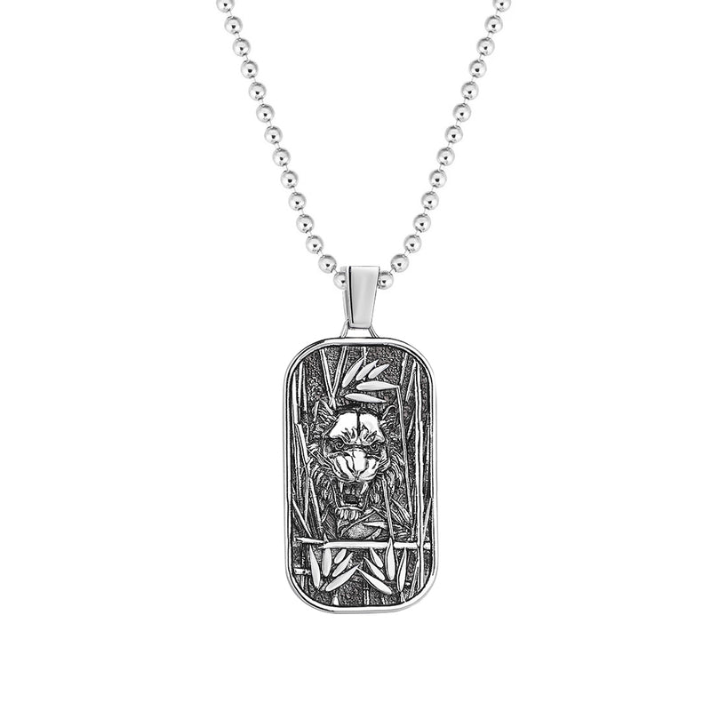 Tiger Pendant in Silver (Pendant only)