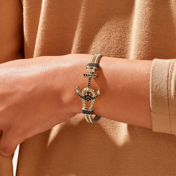 Twined Anchor Bangle