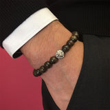Exclusive Leo Beaded Bracelets - Solid Silver