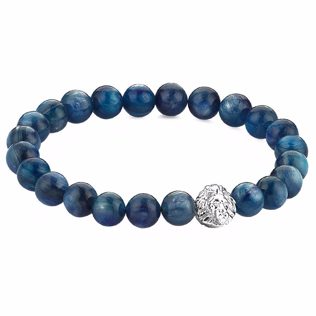 mens jewellery blue bracelets ast bracelet jewelry products lava beaded
