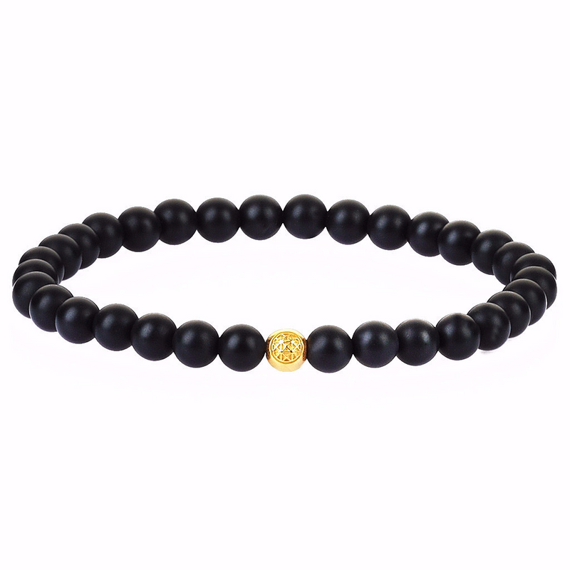 Women's Atolyestone Essentials - Yellow Gold - Agate