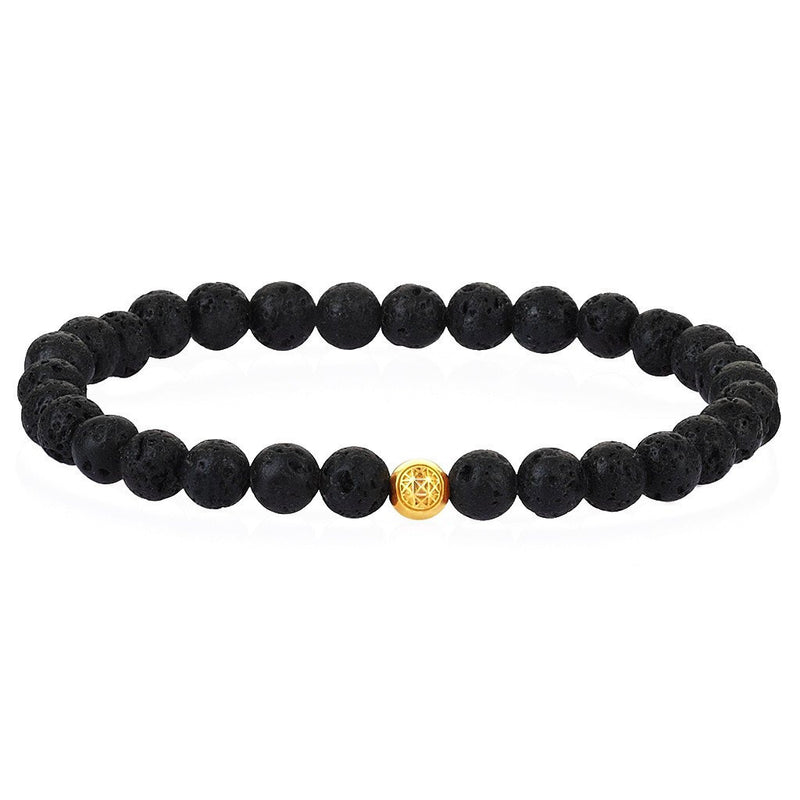 Women's Atolyestone Essentials - Yellow Gold - Lavastone