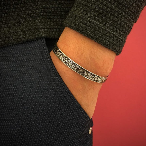 Classic Cuff Bracelet for Men