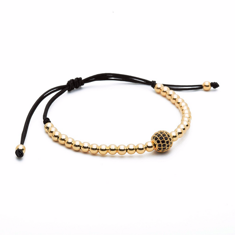 Women's Solitaire Macrame - Yellow Gold