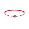 Classic Charm Macrame - Solid Gold - Red - Rose Gold