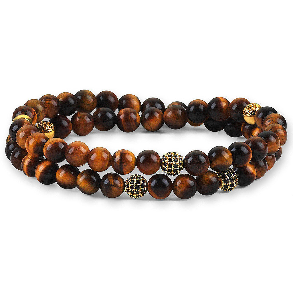 Women Double Beaded Bracelets