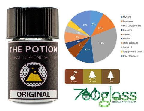 """The Potion"" Organic Terpene Blend (1ml Bottle)"