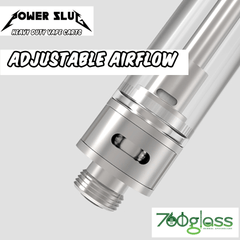 PowerSlug™ Glass/Ceramic Atomizer Tanks