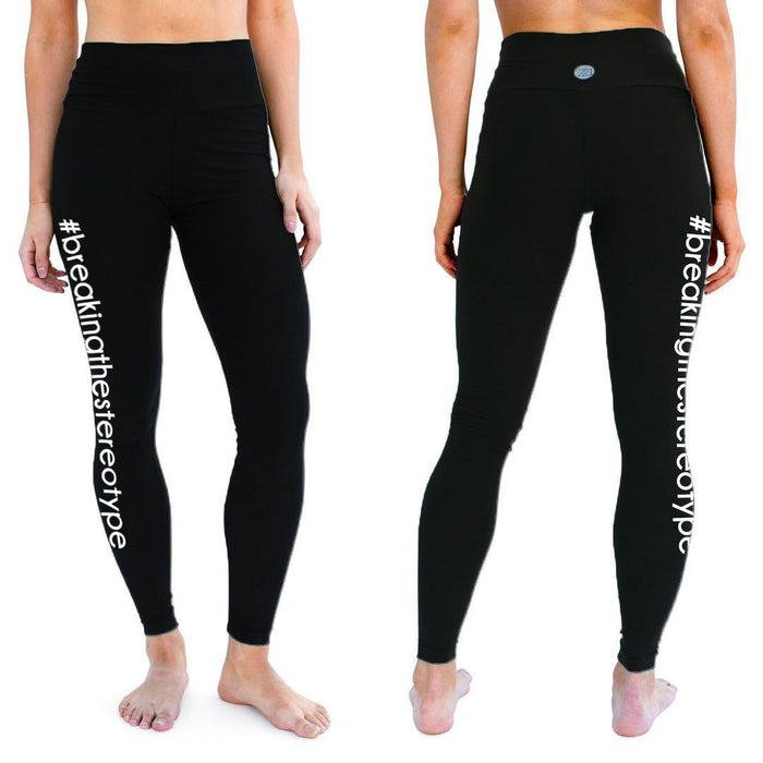 Zions Den Apparel #breakingthestreotype Active Leggings