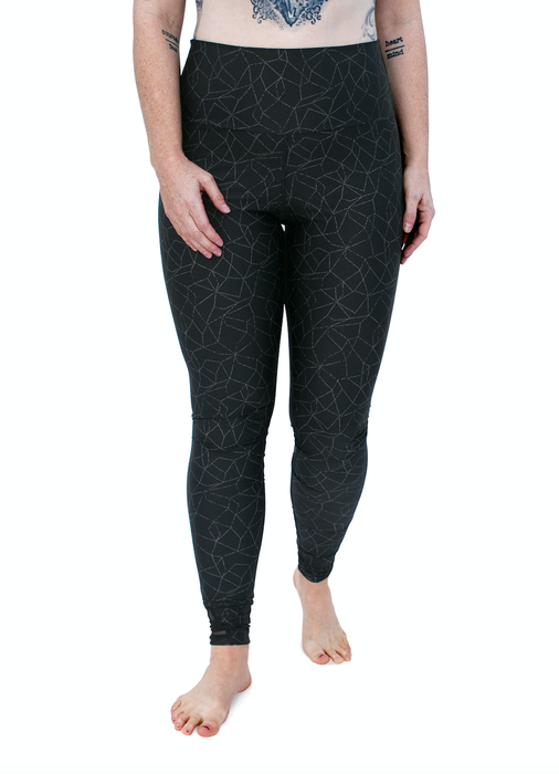 Zions Den Apparel  LEGGINGS Vegas Reflective Active Leggings