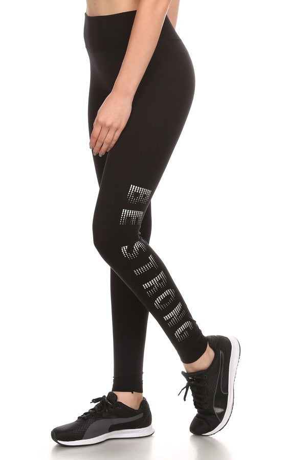 Activewear Leggings - Be Strong Activewear Sport Fitness Leggings