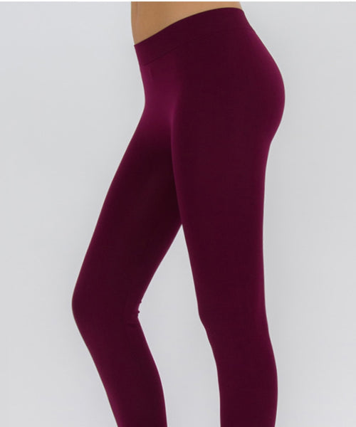 Basic Leggings - Assorted Solid Colors-A mom's Attic
