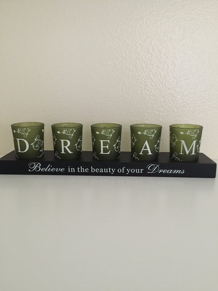 inspirational candle holder-A mom's Attic