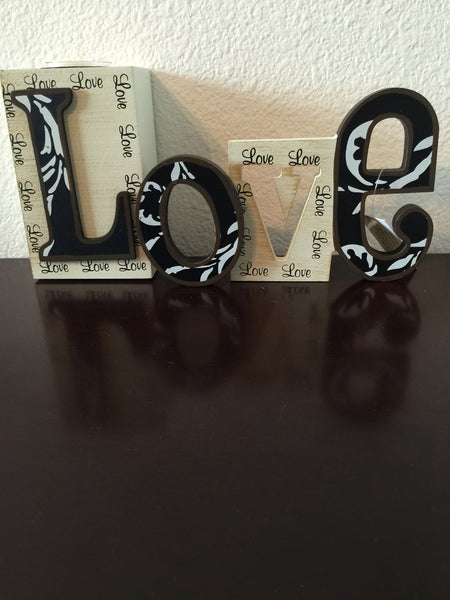 Candle Holder - Love Cut-Out T-Light Holder-A Mom's Attic