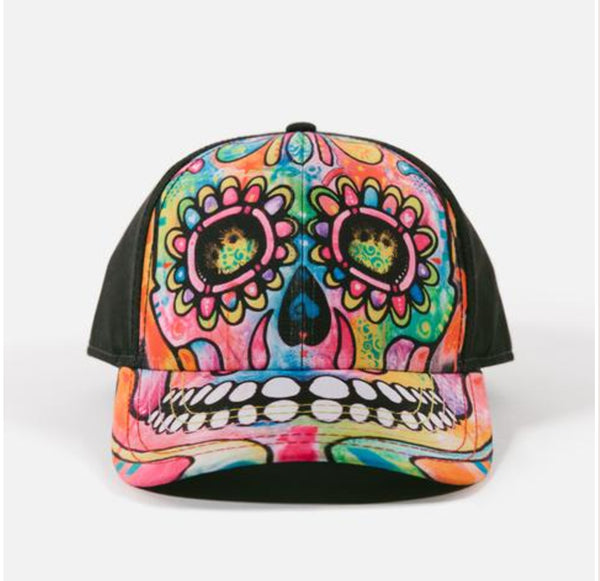 Dean Russo Headwear - Day Of The Dead Hat By Dean Russo