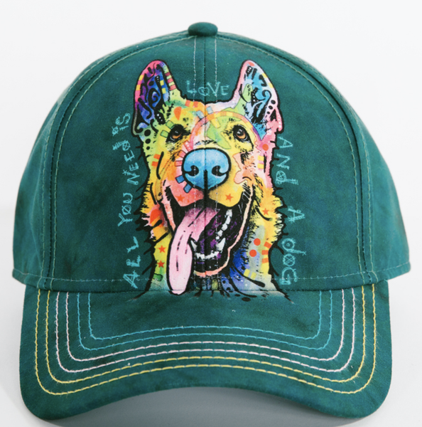 Dean Russo Headwear - German Shepherd Hat By Dean Russo