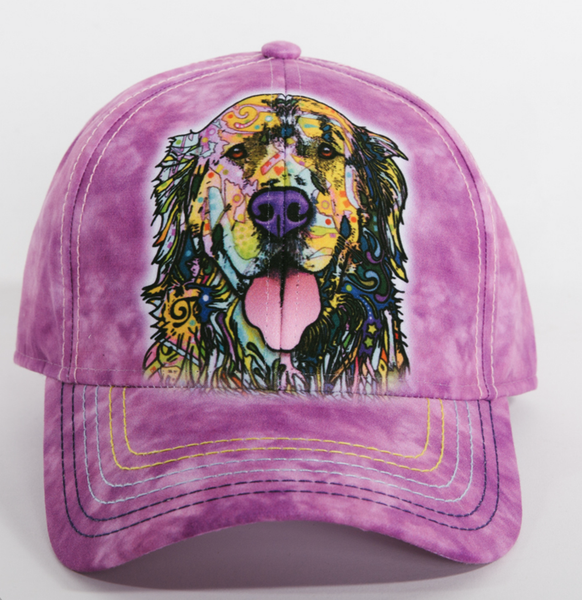 Dean Russo Headwear - Golden Retriever Hat By Dean Russo