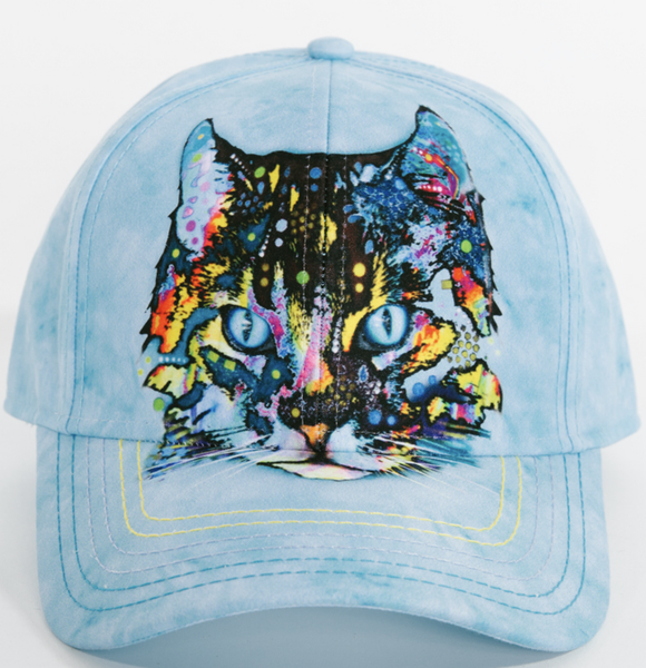 Dean Russo Headwear - Hypno Cat Hat By Dean Russo