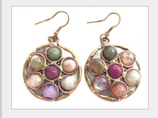 Agate Stone Earrings