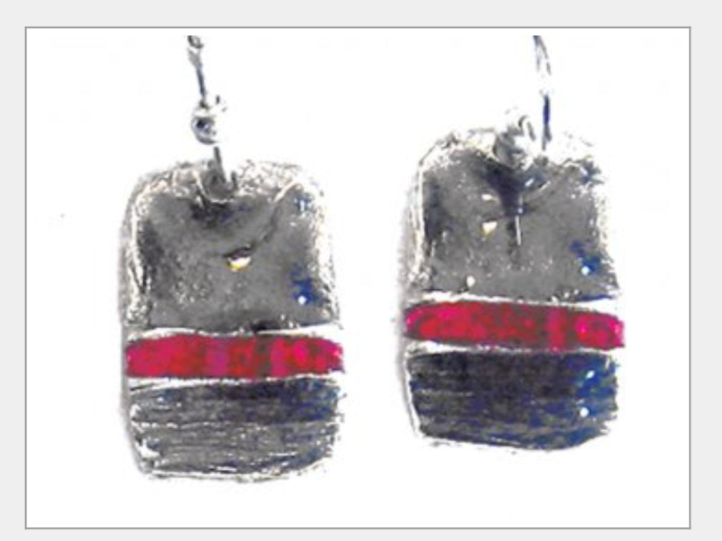 Earrings - Handcrafted Pewter Earrings