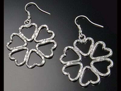 Earrings - Heart Handcrafted Earrings