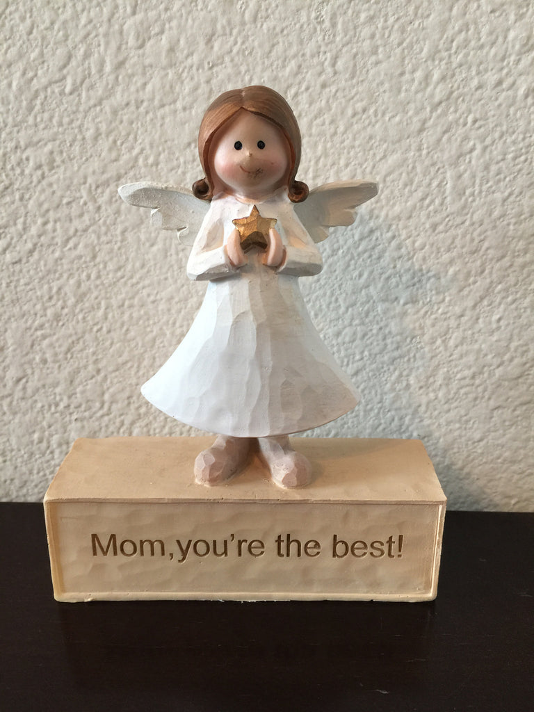 Figurines - Mom, You're The Best !-A Mom's Attic
