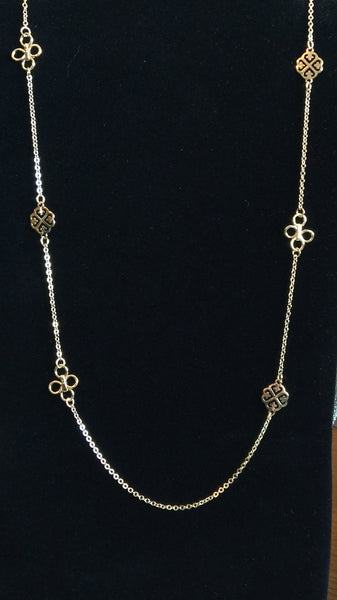 Clover Spaced Necklace