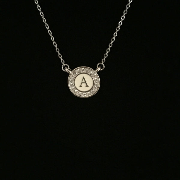 Initial Necklaces-A Mom's Attic
