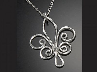 Necklaces - Fleur De Lis Necklace-A Mom's Atic