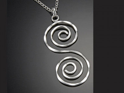 Necklaces - Spiral S Necklace