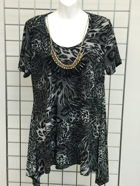 Animal Print  Women's Tunic-A mom's Attic