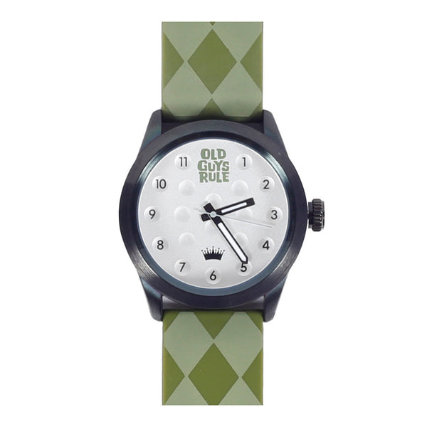 """Argyle"" Old Guys Rule Limited Edition Watch-A mom's Attic"