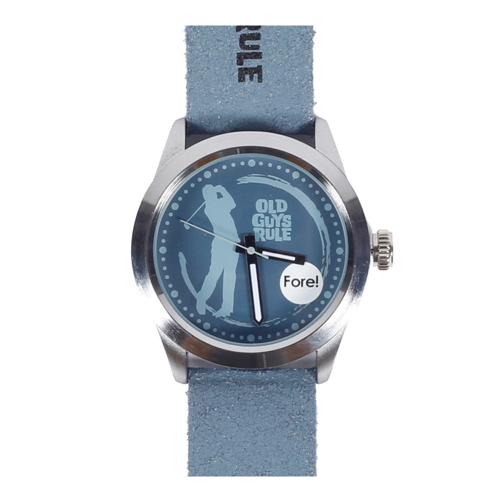 """Fore"" Old Guys Rule Limited Edition Watch-A mom's Attic"