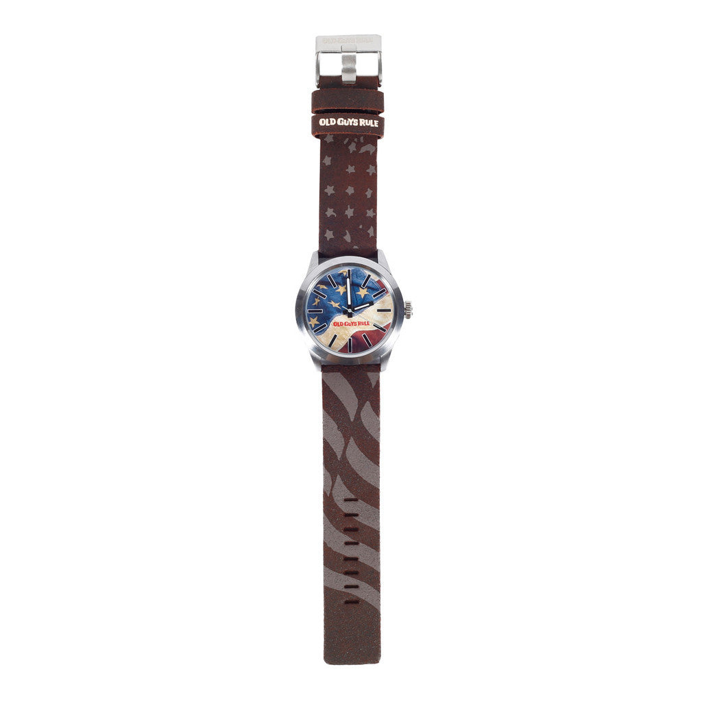 "Watches - ""Old Glory"" Old Guys Rule Limited Edition Watch"