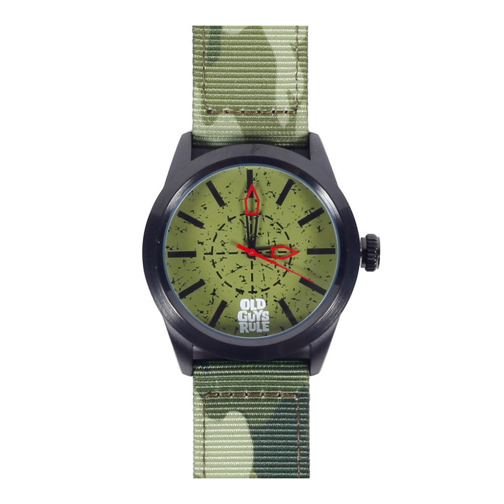 """Patriot"" Old Guys Rule Limited Edition Watch-A mom's Attic"