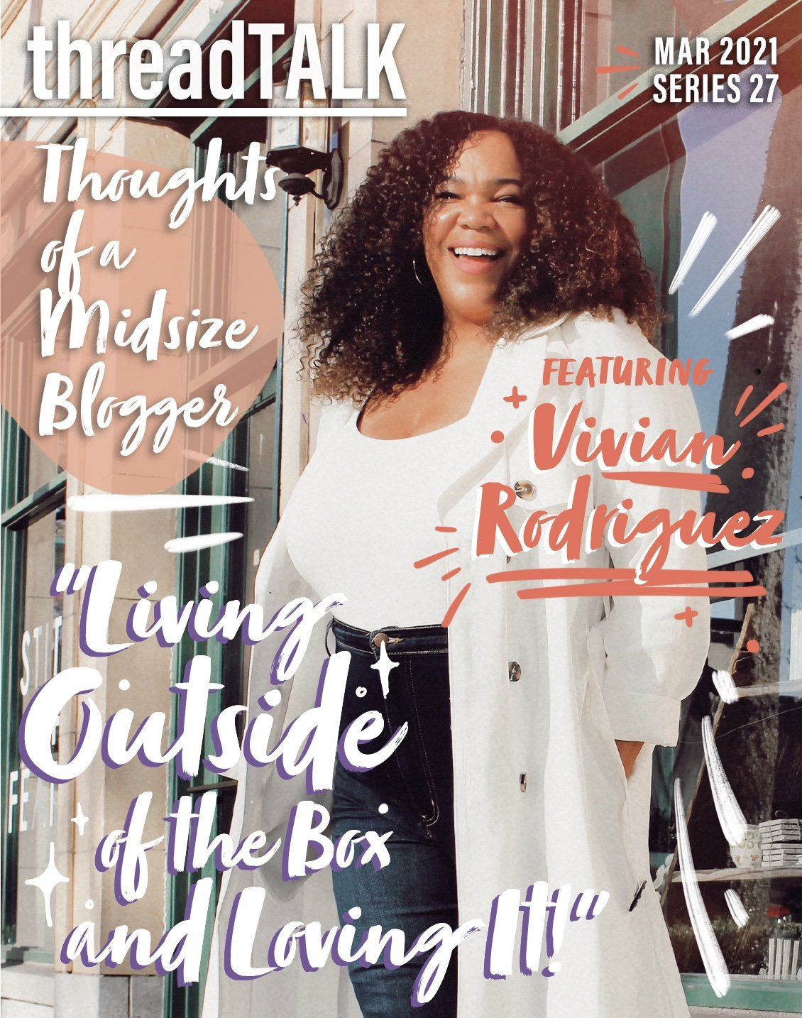 threadTALK Blog Series 27: Thoughts of a Midsize Influencer with Vivian Rodriguez | Stories You Can Wear by Thread Tank
