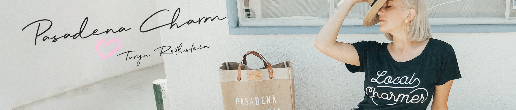 Pasadena Charm Exclusive Release Page Banner