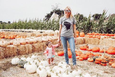 Shauna Bligh aka @stayinghomesawyer Wisconsin Roots Graphic Tee Top