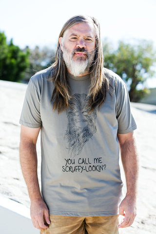 Iconic Beards T-Shirt Collection: You Call Me Scruffy-Lookin?